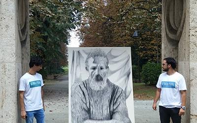 Un tablou cu totul special al lui Constantin Brâncuşi a fost realizat de câţiva tineri artişti proveniţi din mai multe oraşe ale ţării din dorinţa de a-i impulsiona pe români...